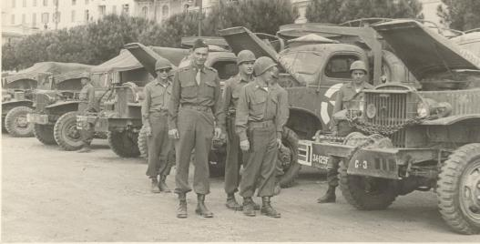Morton Inspection with Pete Boyle & 7 soldiers, C Btry, San Remer Italy, May 1945 125.0009.1.jpg