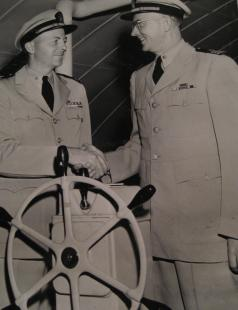 Officers at helm trainingwheel.JPG